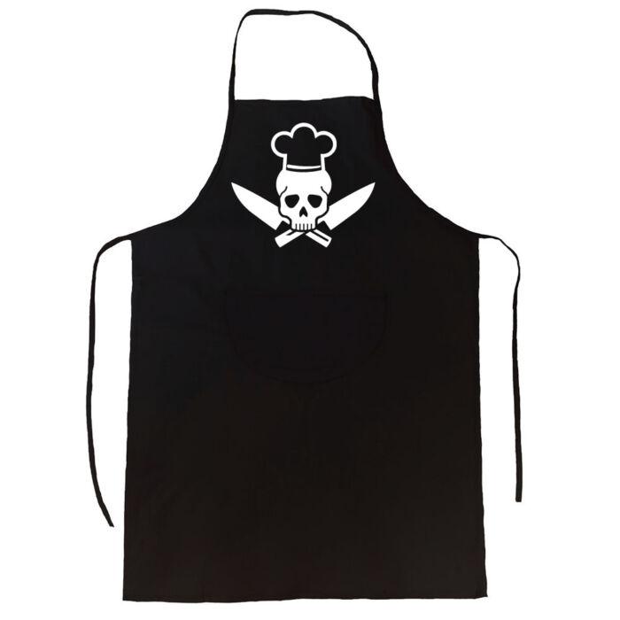 Skull Chef' Vicces, Tréfás Kötény