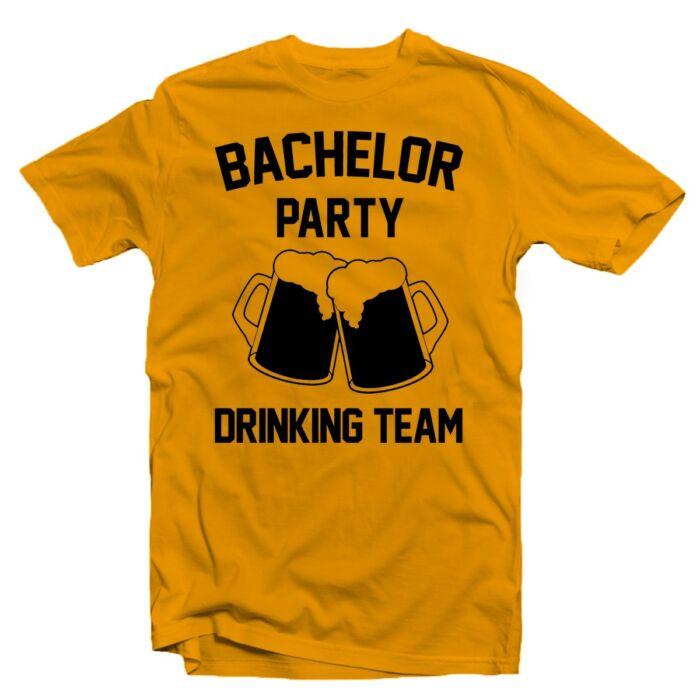 Bachelor Party Drinking Team' Legénybúcsú Party Póló
