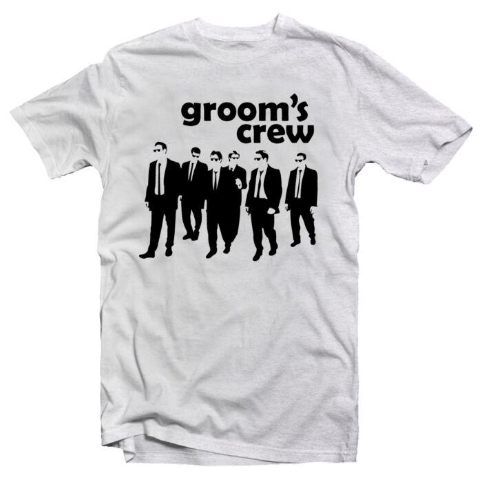 The Groom's Crew' Legénybúcsú Party Póló