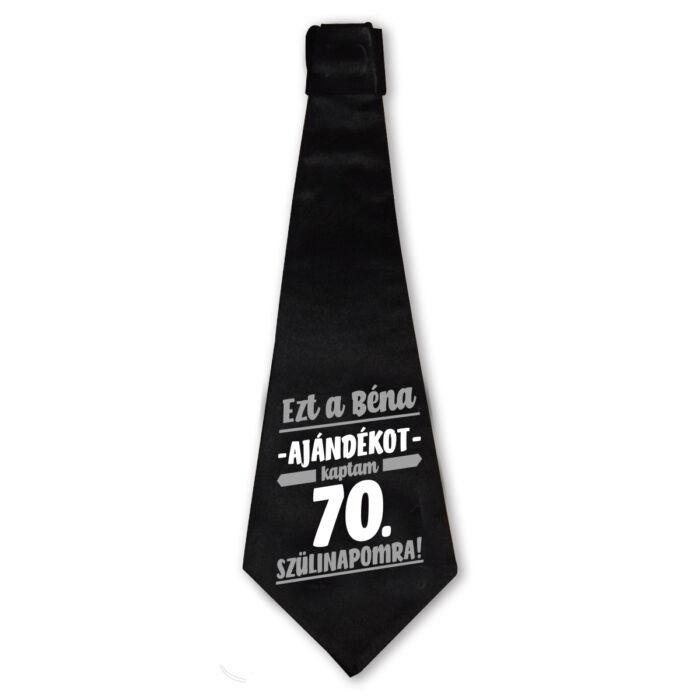 Ezt a Béna Ajándékot Kaptam 70. Szülinapomra! Szülinapi Nyakkendő