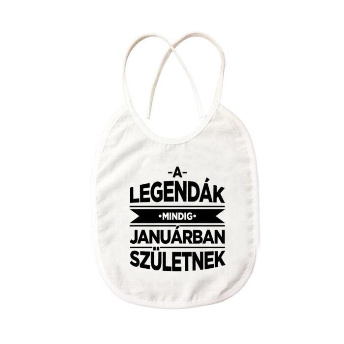 A Legendák Mindig Januárban Születnek Ajándék Szülinapi Pártedli