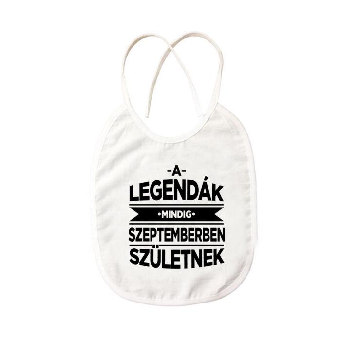 A Legendák Mindig Szeptemberben Születnek Ajándék Szülinapi Pártedli