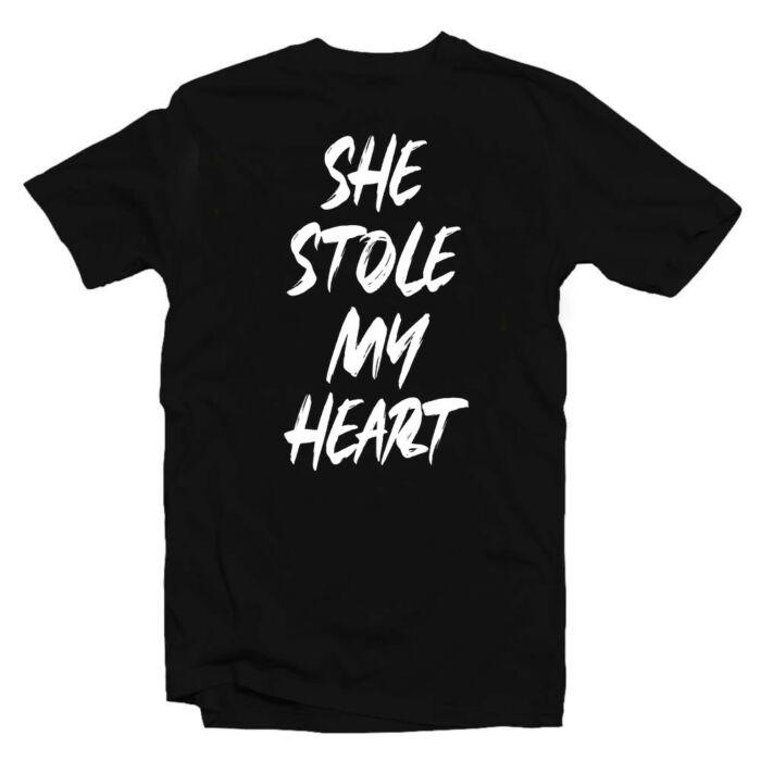She Stole My Heart Szerelmes Póló Valentin-napra