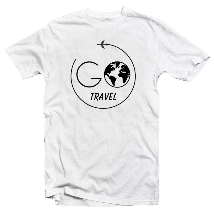 Go Travel Utazós Feliratos Póló