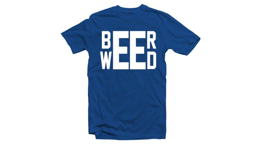 Beer - Weed  Feliratos Fesztivál Póló - Ruha és Pólónyomás - Vicces ... 0d6d8cabbe