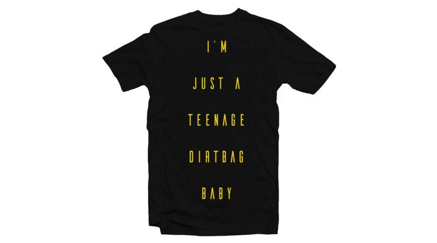 I Am Just a Teenage Dirtbag Baby Zenei Feliratos Póló (Fekete-Fehér) Katt  rá a felnagyításhoz c44335750b