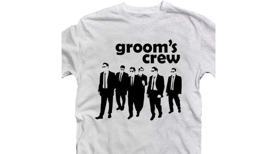 The Groom s Crew  Legénybúcsú Party Póló - Ruha és Pólónyomás ... a9be209b71