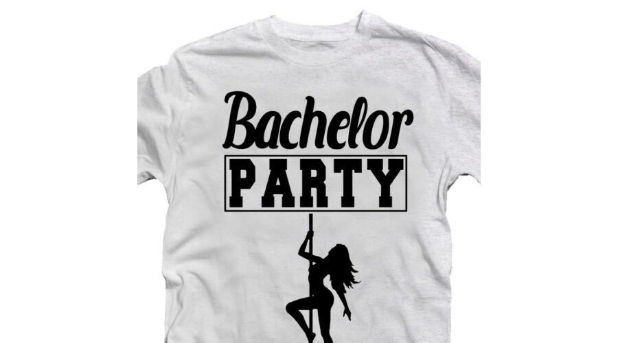 Bachelor Party Pole Dance  Legénybúcsú Party Póló - Ruha és ... 28a8e1c09b
